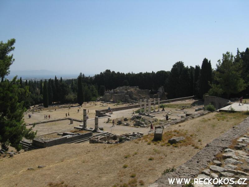 řecko kos asklepion